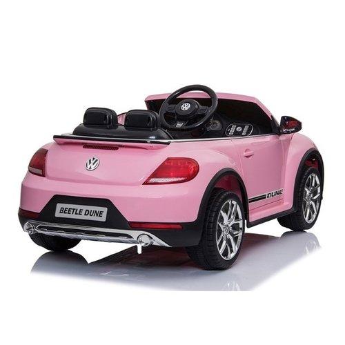 Volkswagen Volkswagen Dune Beetle 12V Children Car Pink