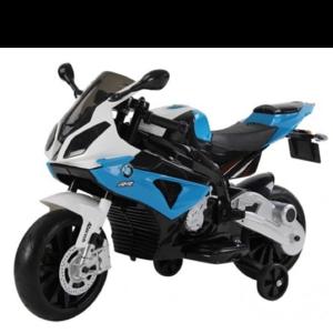 BMW BMW S1000RR 12V Children Motorcycle Blue-White