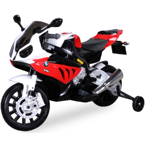 BMW BMW S1000RR 12V Children Motorcycle Red-White
