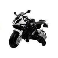 BMW S1000RR 12V Children Motorcycle Black-White