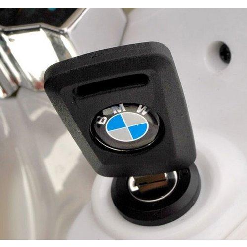 BMW kinderauto BMW S1000RR 12V Kindermotor Zwart-Wit