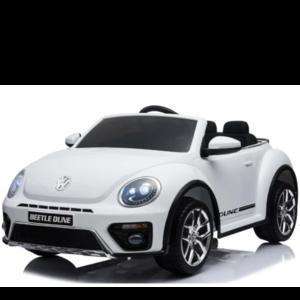 Volkswagen kinderauto Volkswagen Dune Beetle 12V Kinderauto Wit