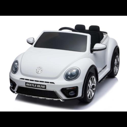 Volkswagen Volkswagen Dune Beetle 12V met Rubberen banden (Wit)