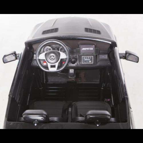 Mercedes kinderauto Mercedes Benz GLS63 AMG 12V 2-persoons kinderauto zwart