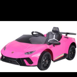 Lamborghini kinderauto Lamborghini Huracán 12V kinderauto roze