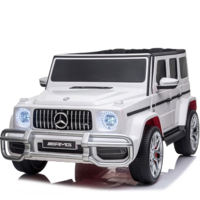 Mercedes G63 AMG 24V 2-persoons kinderauto wit