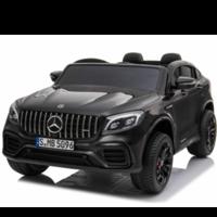 Mercedes Benz GLC63S AMG 12V 2 persoons kinderauto zwart