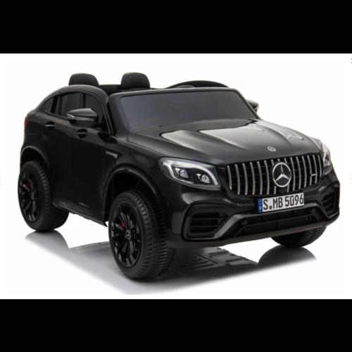 Mercedes kinderauto Mercedes Benz GLC63S AMG 12V 2 persoons kinderauto zwart