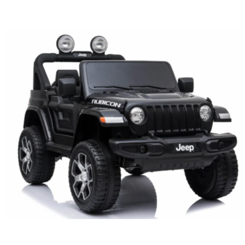 Jeep Jeep Wrangler Rubicon 12V Kinderauto Zwart