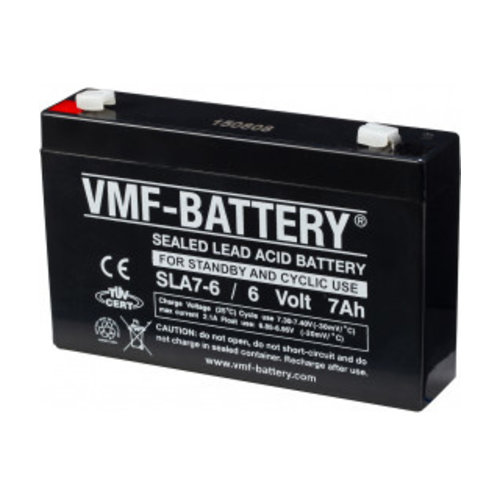 VMF Schuif Accu 6V 7Ah