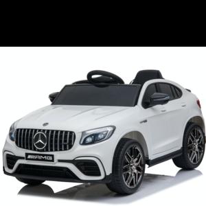Mercedes kinderauto Mercedes GLC63S AMG 12V Kinderauto Wit