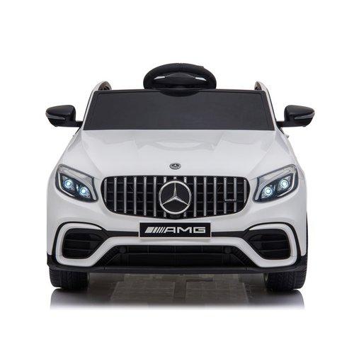 Mercedes Mercedes GLC63S AMG 12V kinderauto wit