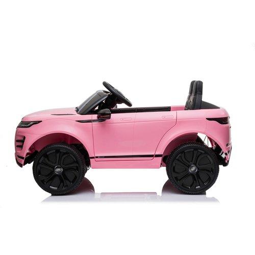 Range Rover Range Rover Evoque 12V Kinderauto Roze