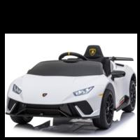 Lamborghini Huracán 12V kinderauto wit