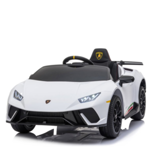 Lamborghini kinderauto Lamborghini Huracán 12V Kinderauto Wit