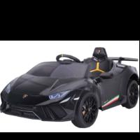Lamborghini Huracán 12V kinderauto metallic zwart