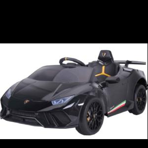 Lamborghini Lamborghini Huracán 12V kinderauto metallic zwart
