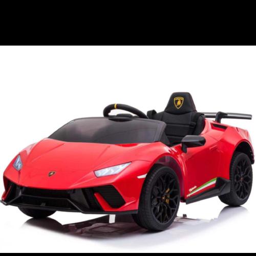 Lamborghini Lamborghini Huracán 12V Kinderauto Rood