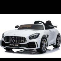 Mercedes Benz GTR AMG 12V kinderauto Wit