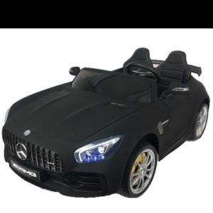 Mercedes Mercedes Benz GTR AMG 12V Kinderauto Mat Zwart