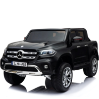 Mercedes X-KLASSE 12V Children Car Metallic Black