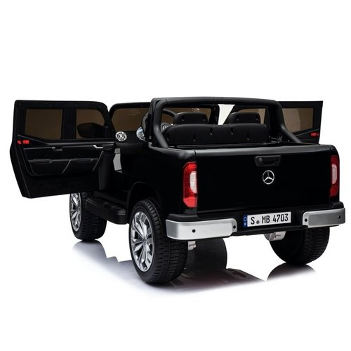 Mercedes Mercedes X-KLASSE 12V Kinderauto Metallic Zwart
