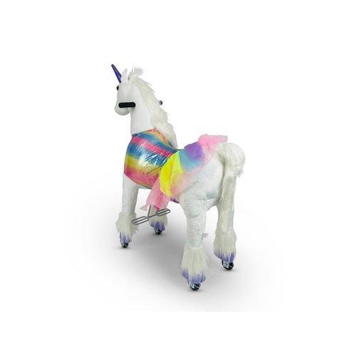 Rollzone MY PONY, Rijdend Speelgoed Unicorn (Klein)