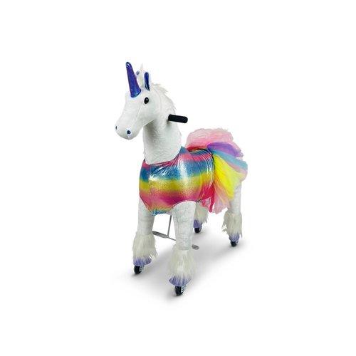 Rollzone MY PONY,  Rijdend speelgoed Unicorn (Medium)