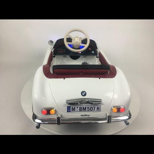 BMW BMW 507 Oldtimer 12V Kinderauto Wit