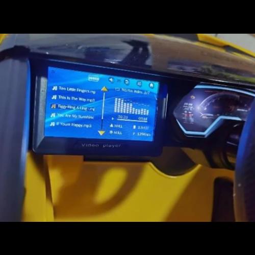 Lamborghini kinderauto Lamborghini Sian 12V Kinderauto Geel