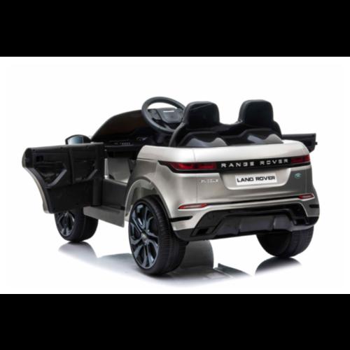 Range Rover Range Rover Evoque 12V Kinderauto Metallic Zilver