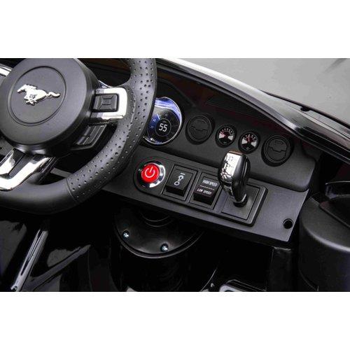 Ford kinderauto Ford Mustang GT-500 24 V Kinderauto Zwart