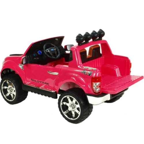 Ford kinderauto Ford Ranger 12V 2-Persoons Kinderauto Roze