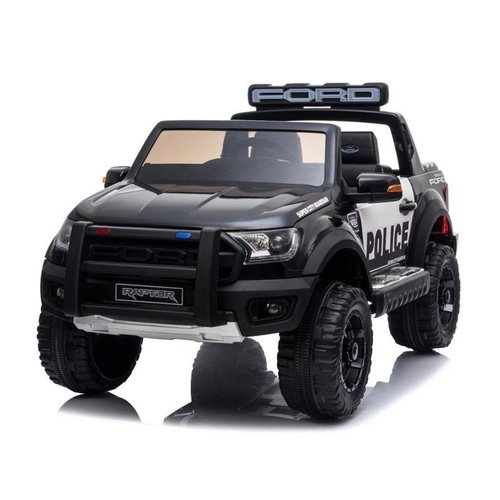 Ford kinderauto Ford Ranger 12V 2-persoons politie kinderauto