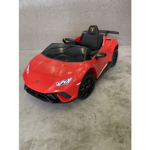 Lamborghini kinderauto Lamborghini Huracán 12V Kinderauto Rood