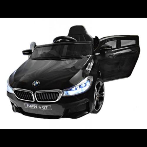 BMW kinderauto BMW 6 GT 12V Kinderauto Zwart
