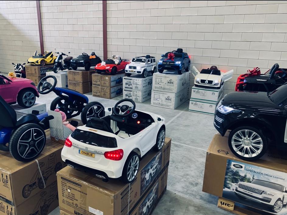 De nummer 1 showroom van elektrische kinderauto's