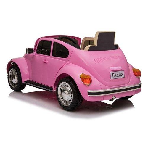 Volkswagen kinderauto Volkswagen Beetle Oldtimer 12V kinderauto roze