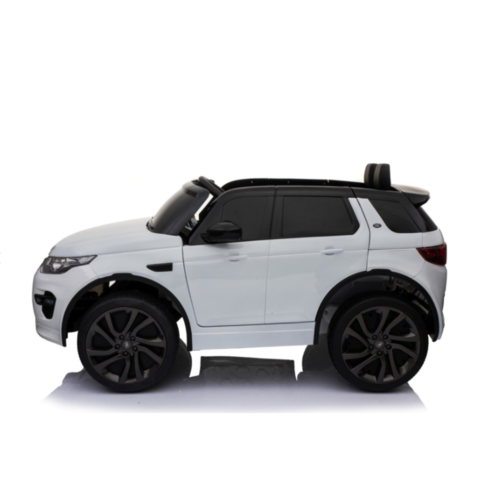 Range Rover kinderauto Landrover Discovery 12V kinderauto wit