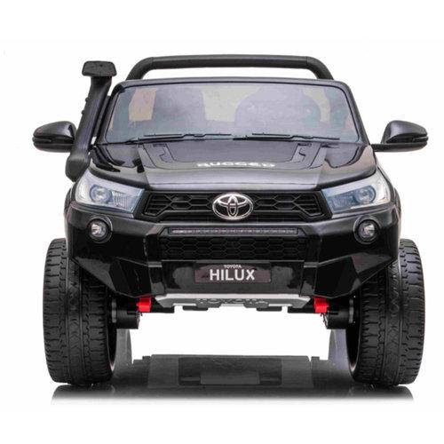 Toyota kinderauto Toyota Hi-Lux 12V 2 Persoons Kinderauto Zwart