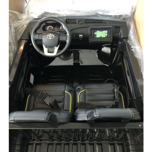 Toyota kinderauto Toyota Hi-Lux 12V 2 Persoons Kinderauto Wit