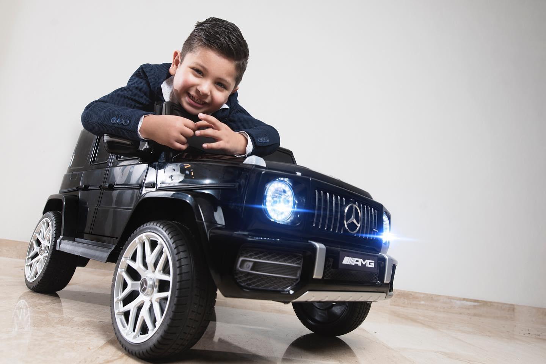 Mercedes elektrische kinderauto