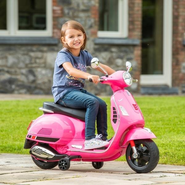 Vespa elektrische kinderscooter