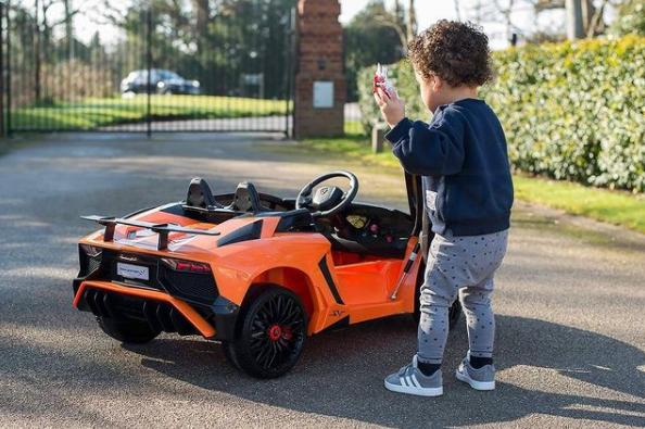 Lamborghini elektrische kinderauto - auto voor kinderen