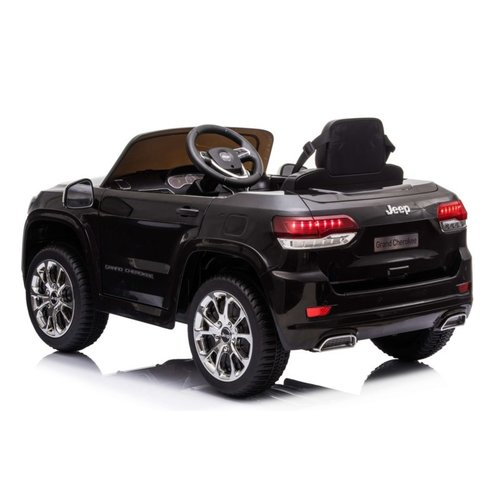 Jeep kinderauto Jeep Grand Cherokee 12V Kinderauto Zwart