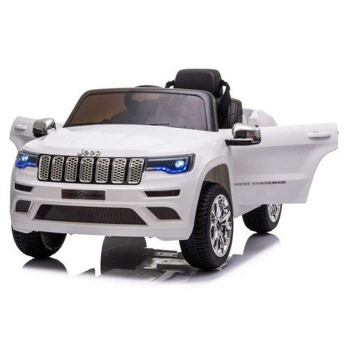 Jeep kinderauto Jeep Grand Cherokee 12V Kinderauto Wit