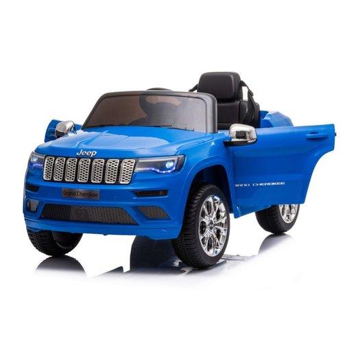 Jeep kinderauto Jeep Grand Cherokee 12V Kinderauto Metallic Blauw