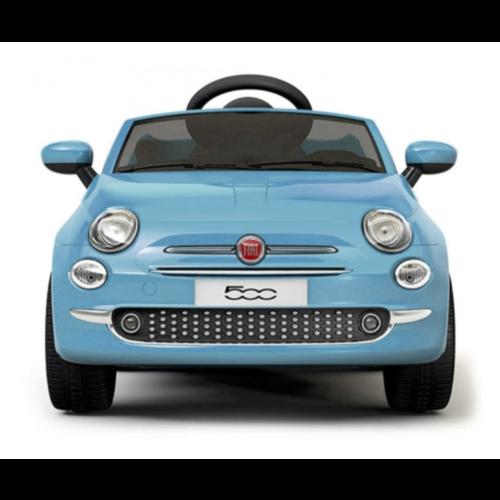 Fiat kinderauto Fiat 500 12V kinderauto Blauw