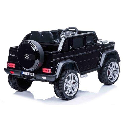 Mercedes kinderauto Mercedes Maybach 650 Cabrio 12V kinderauto zwart