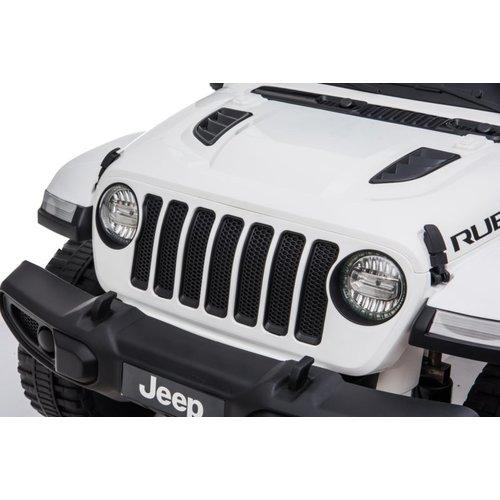Jeep kinderauto Jeep Wrangler Rubicon 12V Kinderauto Wit